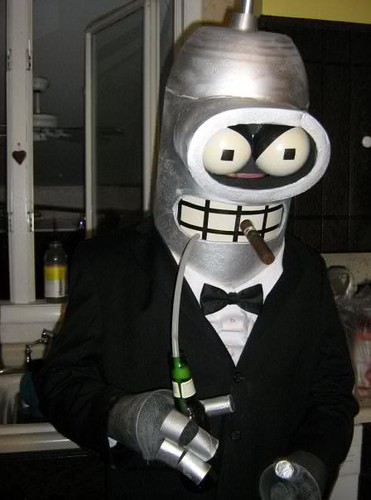 Bender costume, dos