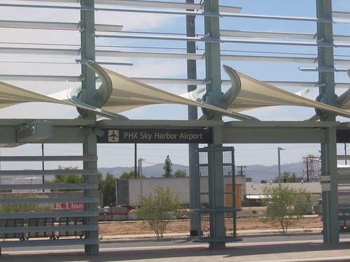 Phoenix Sky Harbor Airport Light Rail Station