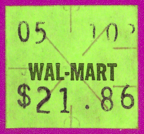 walmart tag machine price