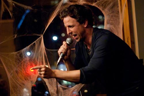Seth Meyers at Spirits in Toronto. Photo by Sharilyn Johnson