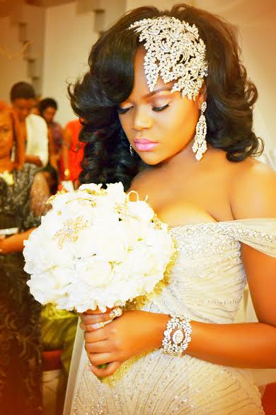 Shelina- custom crystal headpiece and jewelry- Bridal Styles Boutique