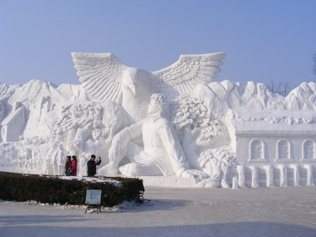 Finnish folk tales, Harbin International Ice and Snow Sculpture Festival