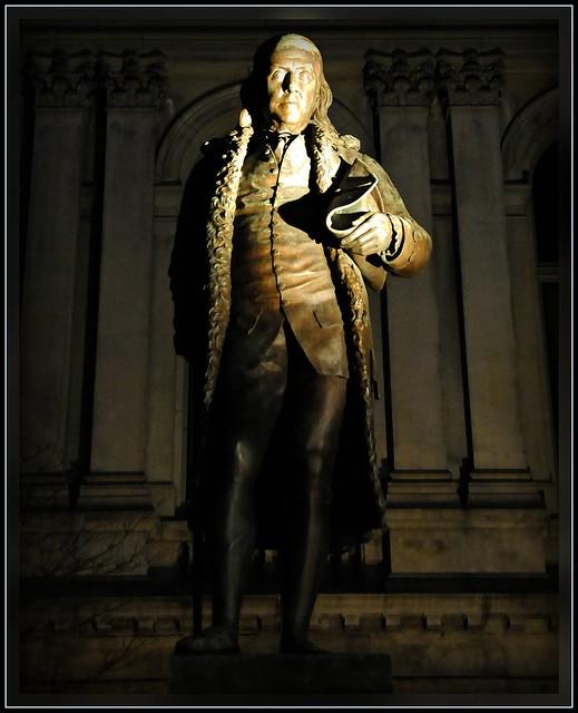 Benjamin Franklin, Born in...Boston! from Flickr via Wylio