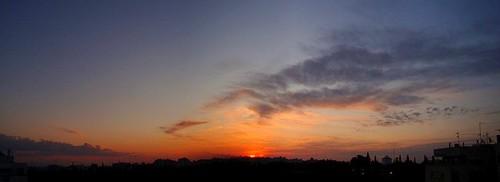 sunset panorama sun sunrise sony cyprus dsc chypre h50 cipre dsch50