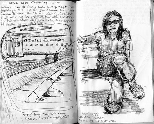 D.C. Trip Doodles