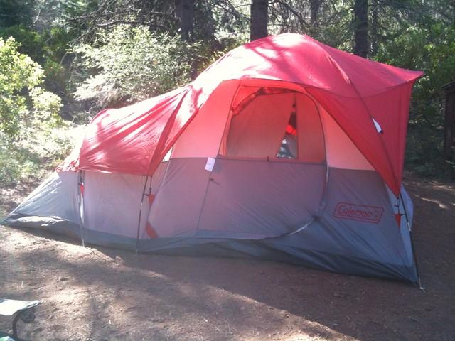 The Coleman Coastline 3 Plus Dome Tent ... & Coleman Exponent Modulus X5 Tent Sleeps Posot Class Granite Peak 4 ...