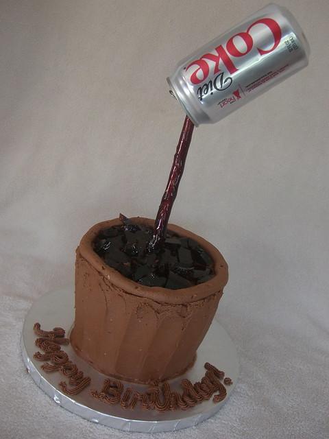Diet Coke Cake | Explore GO Custom Cakes by B's photos on Fl ...