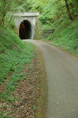 Bicycles tunnel