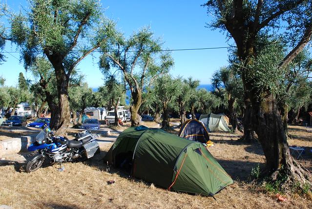 Menton Campsite