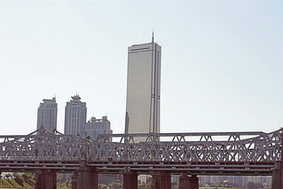 The famous 63 building in Seoul