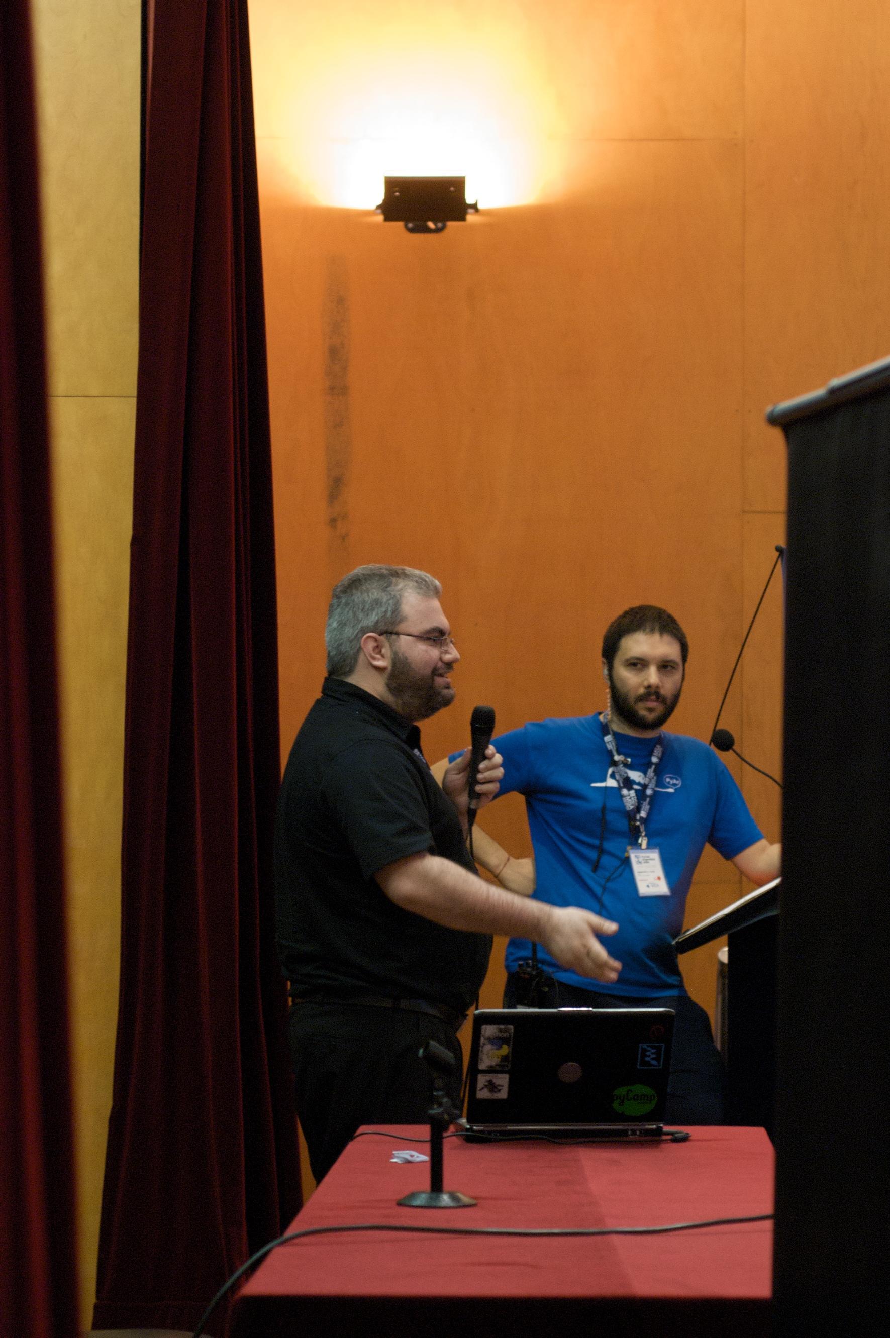 Roberto y Alejandro