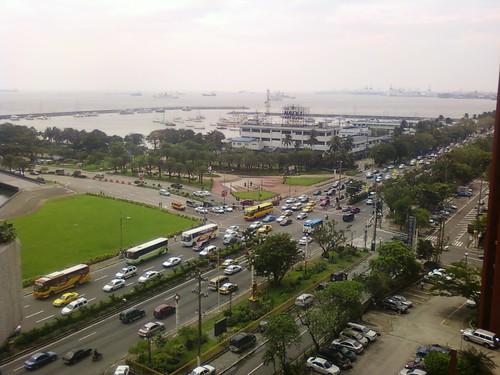 sea bus philippines malate manilabay roxasboulevard tradershotel manilacity