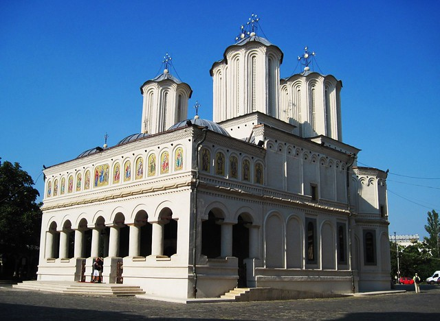 "Bucharest, the ""Palatul Patriarch"" church"
