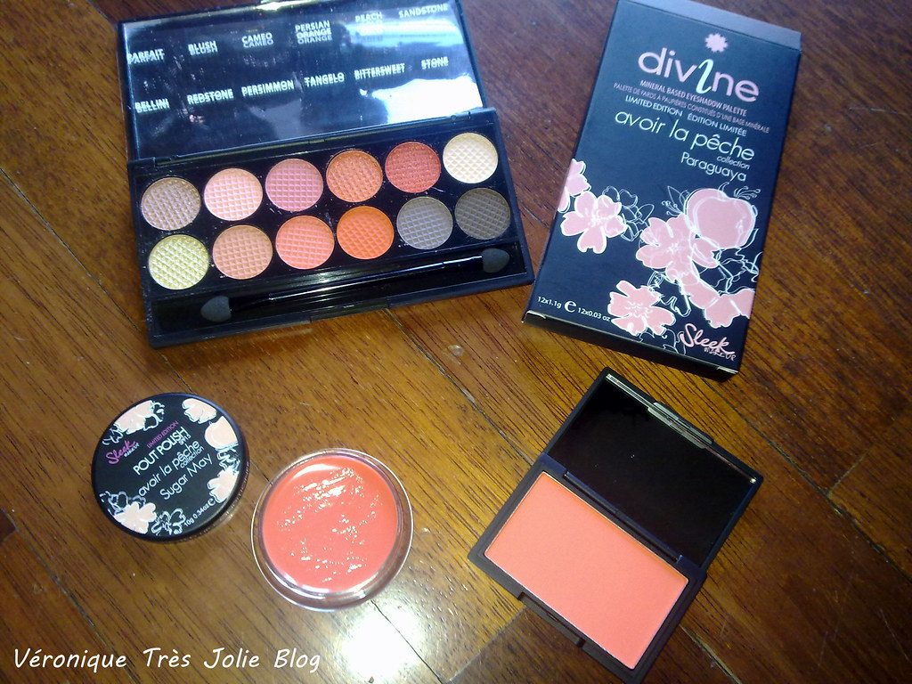 Sleek makeup avoir la peche collection paraguaya i for Avoir la peche
