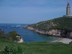 cape, sea, ocean, loch, lighthouse, headland, bay, promontory, inlet, shore, cove, coast, islet, tower, cliff,