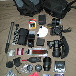What is in my camera bag(s) - January 2009