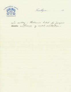 1919.06.29 - Brev fra juryen til bedømmelse av utkastene til et Olav Trygvessøn-monument [side 2 av 2]
