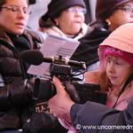 Little Girl with Video Camera - Washington DC, USA
