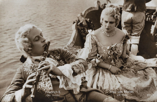 Otto Gebühr and Lilly Flohr in Fridericus Rex (1923)