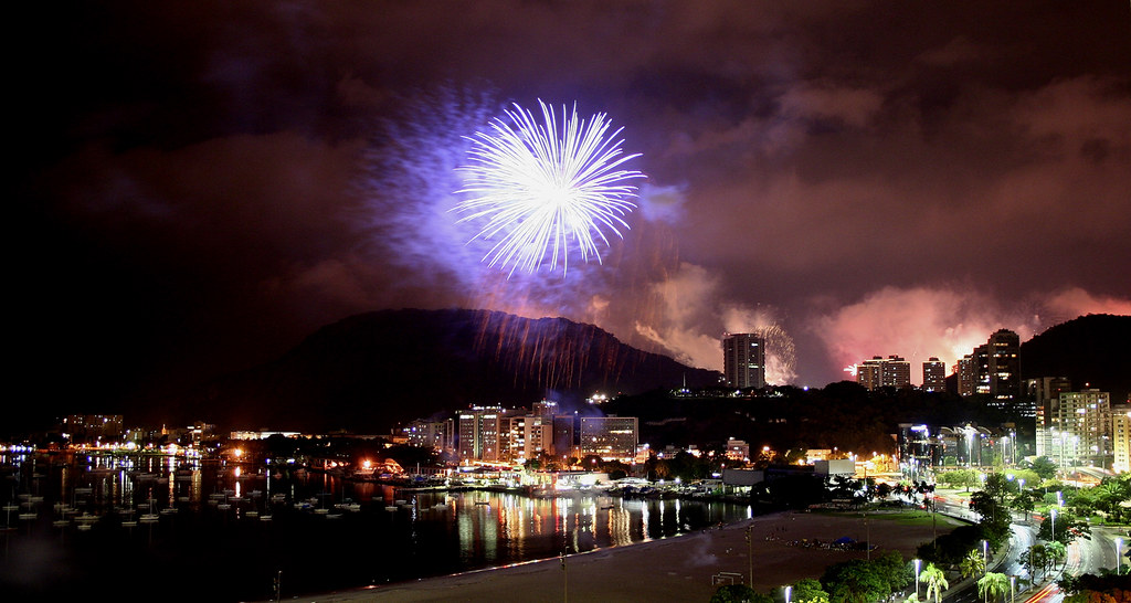 Fireworks - New Year's Eve - Rio de Janeiro - Brazil (2008-2009)