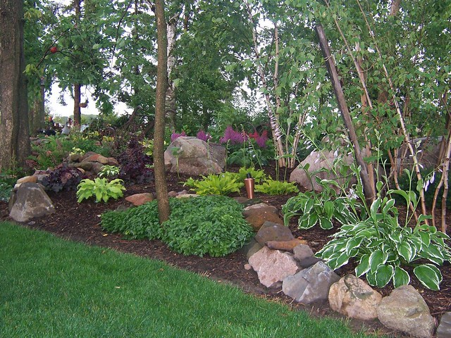 shade garden ideas hostas photograph 1689 shade garden l