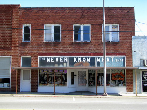The Never Know What Shop