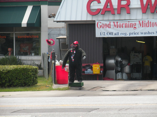 Atlanta Car Wash Gorilla