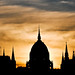 Hungarian Parliament Building Silhouette ~ Explored ~