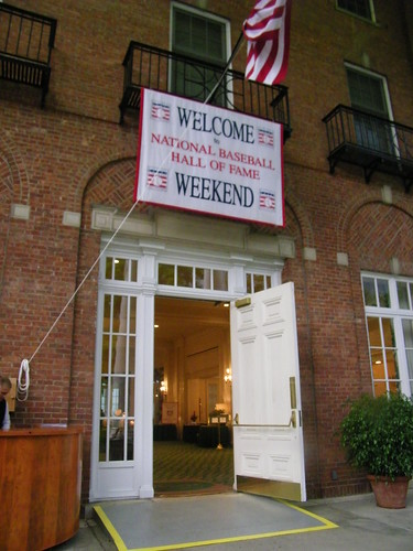 Scenes from The Otesaga Hotel for Hall of Fame Weekend (Cooperstown, NY)