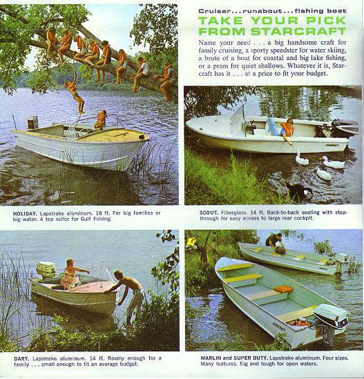1965 Starcraft Dart 14 Runabout Weight Capacity Page 1