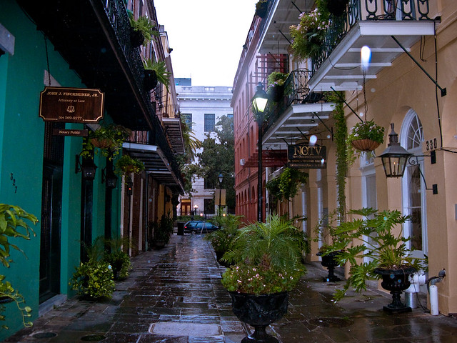 The French Quarter, New Orleans by CC user louisepalanker on Flickr