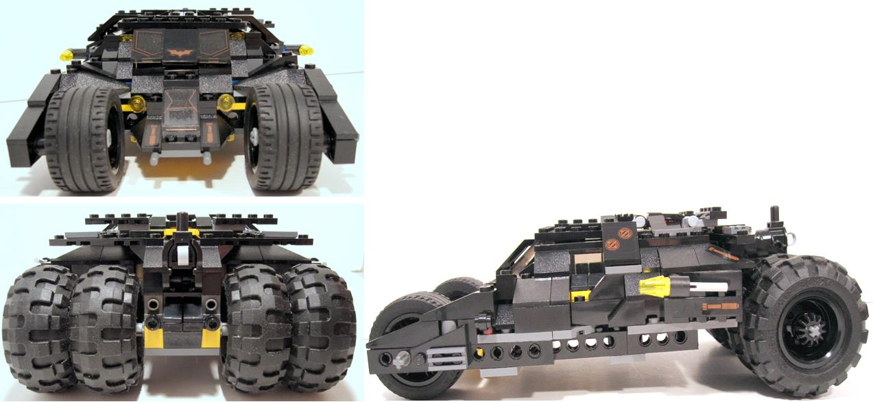 lego batman tumbler with batpod transformation 7888 a lego creation by artifex creation. Black Bedroom Furniture Sets. Home Design Ideas
