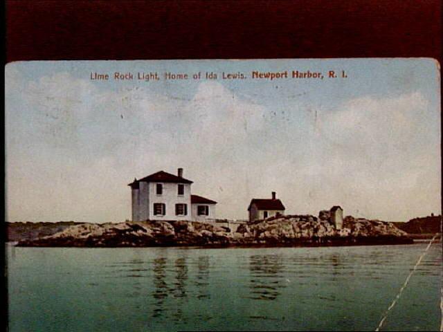 Lime Rock Newport Rhode Island Map