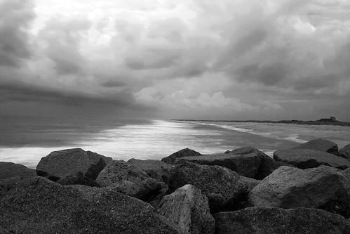 morning beach nc stormy atlanticocean fortfishernc ghholt