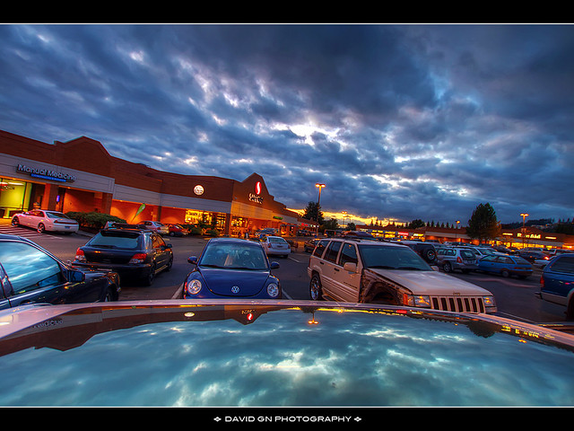 Grocery Shopping - HDR