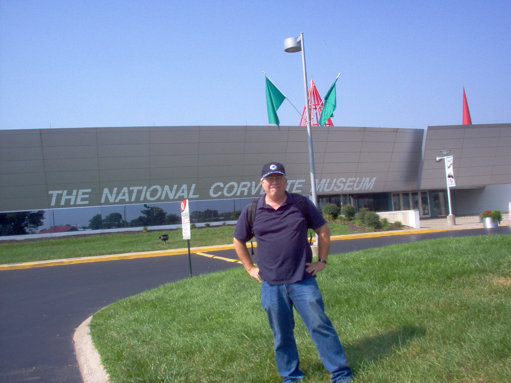 Me - Corvette Museum