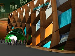 Kazakhstan unveils pavilion design