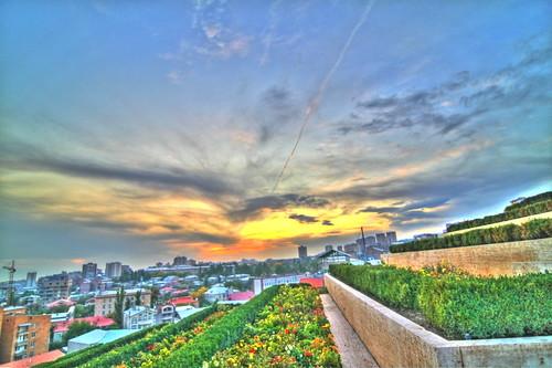 sunset armenia yerevan հայաստան երեւան երեվան մայրամուտ արեւամուտ