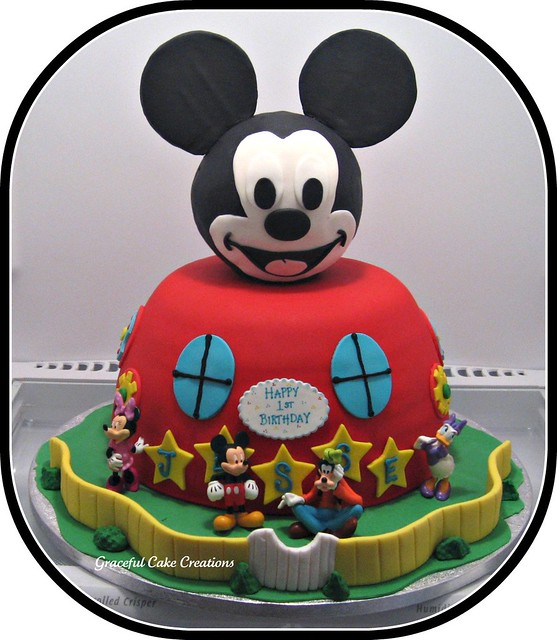 mickey mouse clubhouse cake mickey mouse club house birthday cake a photo on flickriver 5883