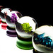 Sculpture: Deadly Sins (Snowglobes), Pure Products USA, by Nora Ligorano and Marshall Reese, Eyebeam Open Studios Fall 2009 / 20091023.10D.55572.P1.L1 / SML by See-ming Lee 李思明 SML