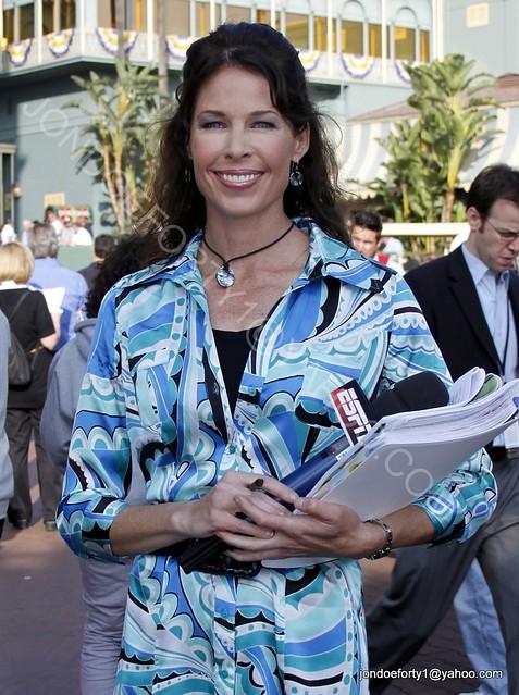 Jeannine Edwards Espn Santa Anita 2009 Breeders Cup Nov