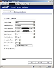 NAT-policy-sonicwall-NSA-4500-1-to-1-NAT-for-all-public-ip-addresses-enhanced-OS