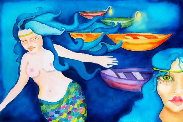mermaids takes boats