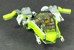 """Lightbug""  microfighter by Tekka Croe"