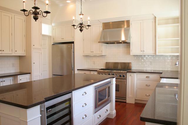 Modern elegant kitchen flickr photo sharing for Traditional elegant kitchens