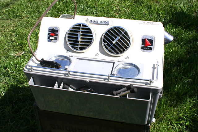 Vintage Evaporative Cooler : Antique car swamp cooler codyham s
