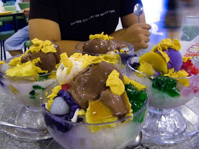Super Halo-halo sa Ice Castle, Raintree Mall, Cebu City