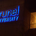 Brunel University Lecture Centre at night
