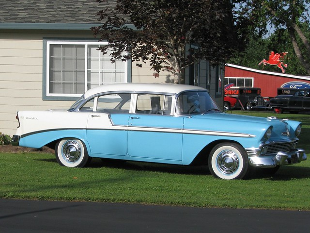 1956 chevrolet bel air 4 door sedan 39 bmh 875 39 2 flickr for 1956 chevy 4 door