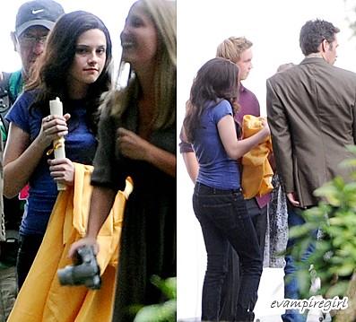 Kristen Stewart Hair Extensions on Kristen Stewart On Set Of Eclipse   Flickr   Photo Sharing
